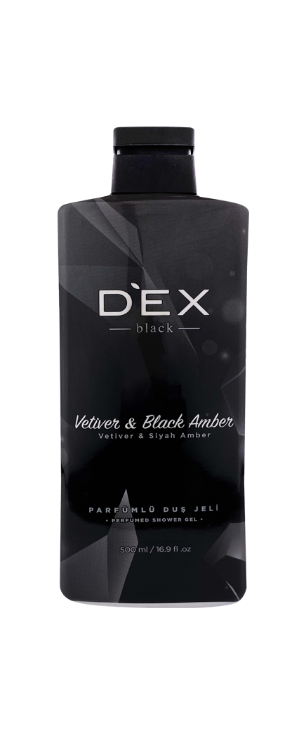 Dex Duş Jeli 500 ml - Black
